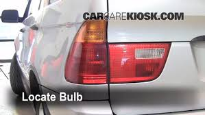 2002 bmw x5 tail light assembly brake light change 2000 2006 bmw x5 2001 bmw x5 3 0i 3 0l 6 cyl