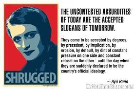 Ayn Rand Meme - ayn rand shrugged myconfinedspace