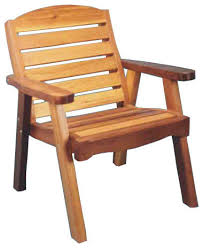 red cedar deck chair traditional outdoor lounge chairs by