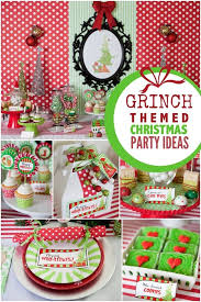 Grinch Christmas Decorations Sale A Grinch Inspired Christmas Party Grinch Theme Ideas And Birthdays