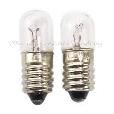 miniature incandescent light bulb e10 6 3v 0 15a t10x28 miniature l light bulb a262 in