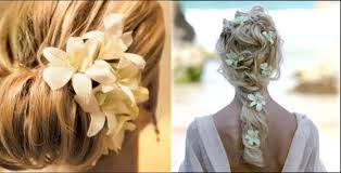wedding flowers in hair how to accent wedding hair with real flowers masseys house of