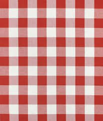 Drapery Material Crossword Gingham Fabric Hunter 1 16