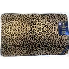 Leopard Bathroom Rugs 84 Best Leopard Bath Images On Pinterest Animal Prints Leopard