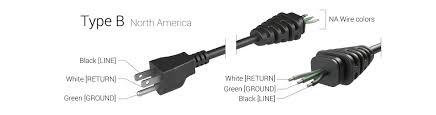 noco gx ac type b plug north america na gxc101