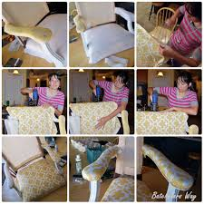 How To Reupholster Armchair Batchelors Way Office Redo How To Reupholster A Chair That I