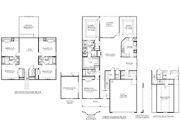 100 southern living floor plans ranch style homes vs two