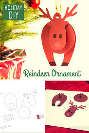 holiday paper ornament template download