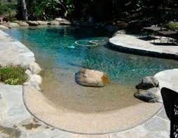 Backyard Beaches Natural Swimming Pools  More WebEcoist - Backyard beach design