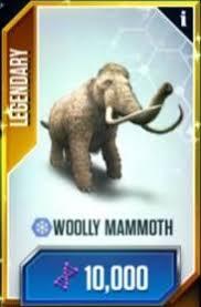 woolly mammoth jurassic park wiki fandom powered wikia