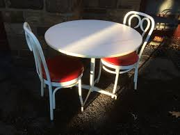 ice cream table and chairs ice cream parlor style table and chair set attainable vintage