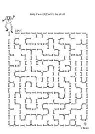 free online printable kids games halloween maze halloween maze