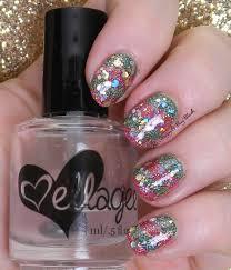 12 days of christmas nail art glitter be happy and buy polish