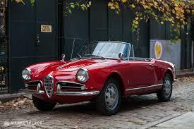 classic alfa romeo 1962 alfa romeo giulietta spider veloce 125 000 u2022 petrolicious