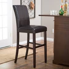 bar stools media nl brown leather bar stools slope counter west