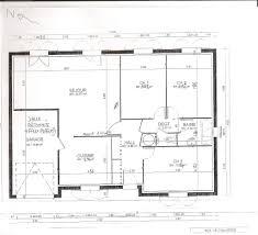 plan de maison plain pied 2 chambres plan maison plain pied 70m2
