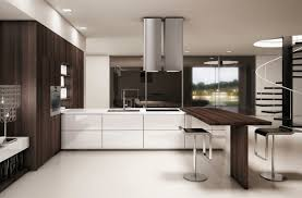 Latest In Kitchen Cabinets Contemporary Kitchen Wood Veneer Lacquered Monforte Scic