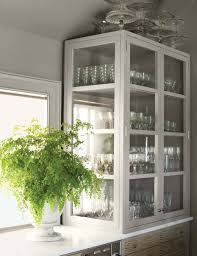 glass kitchen cabinets martha stewart living in martha u0027s