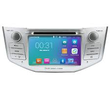 lexus rx 350 bluetooth audio streaming pure quad core android 5 1 1 in dash dvd gps system for 2004 2010
