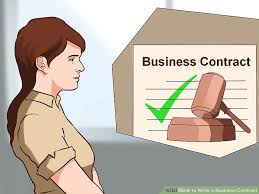 how to write a business contract 15 steps with pictures