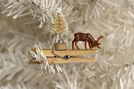 reindeer clothespin ornaments organize and decorate everything