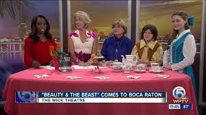 boca home theater beauty and the beast u0027 at the wick theatre in boca raton youtube