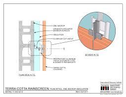 11 030 0212 terra cotta rainscreen plan detail cmu backup