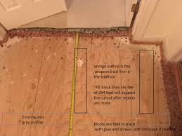 how to cut through subfloor fixing squeak in subfloor home improvement stack exchange