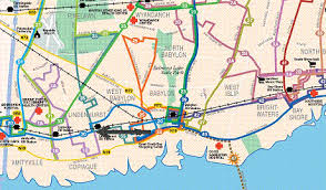 suffolk county map suffolk map my