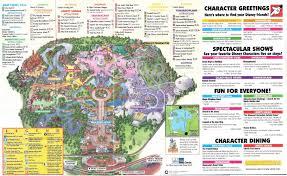 Disney World Park Maps Crapstravaganza Week 17 Magic Kingdom 1998 The Dod3