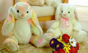 stuffed bunnies for easter attractive plush stuffed rabbits