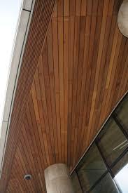 timber clad soffit 03 soffit pinterest