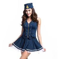 Sailors Halloween Costumes Womans Navy Sailor Halloween Costumes Vestido Disfraces Adultos