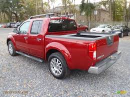 nissan frontier king cab roof rack 2011 nissan frontier sl crew cab in red brick photo 3 412750