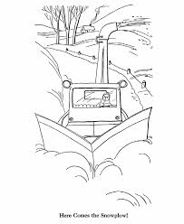 bluebonkers printable winter coloring sheets snow plow