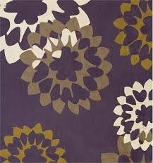 Ross Rugs Carousel Grape Curry Ivory Pewter From Judy Ross Textiles
