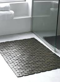 Bathroom Floor Mats Rugs Bamboo Bath Rugs Excellent Cork Bath Mat The Green