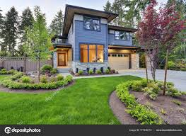 New Home Designs With Pictures by Luxurious Home Design With Modern Curb Appeal In Bellevue U2014 Stock