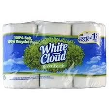 White Cloud Bathroom Tissue - upc 061328354060 white cloud green earth giant bath tissue 6ct