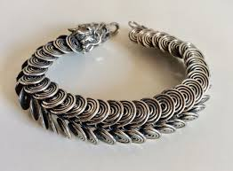 dragon bracelet silver images 925 1000 sterling silver dragon bracelet 45 gr 19 5 cm catawiki jpg