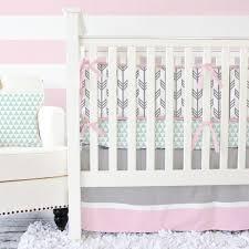Pink And Gray Comforter Boho Nursery Bedding U0026 Accessories Caden Lane
