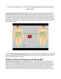 Book Free Download Enlargement Remedy Pdf Ebook Is Tom Candow U0027s Book Free