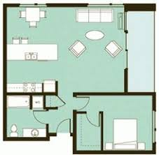 Layout Apartment 569 Sq Ft Studio Apartment Layout I Like The Galley Kitchen