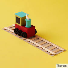 Making Wooden Toy Train Tracks by Simple Wood Crafts For Your Kids