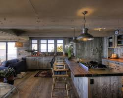 barnwood kitchen island barn wood island houzz