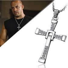 aliexpress cross necklace images High quality fast and furious 6 dominic toretto cross necklace for jpg