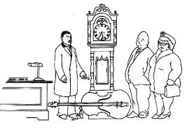 designing grandfather clock coloring pages color luna