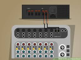 how to set up a sound board 14 steps with pictures wikihow