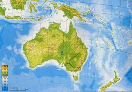 Map Of Oceania Geography And History Blog Asia And Oceania Physical Maps