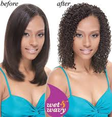 sew in wet and wavy 16in janet collection indian remi wet wavy human hair afro jerry weave
